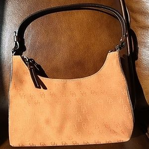 Dooney & Bourke Pumpkin Jacquard Mini Shoulder Bag
